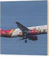 Air Malta Airbus A320-214 Wood Print