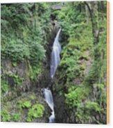 Aira Force Waterfall, Aira Beck, Ullswater, Lake District Wood Print