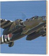 Aircraft Wood Print