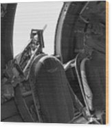 Aircraft Machine Gun Wwii Wood Print