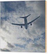 Airliner 01 Wood Print