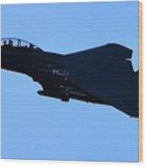 Airplane Jet Wood Print