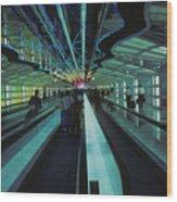 Airport 1 Wood Print