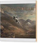 Airpower Team Wood Print