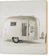 Airstream Bambi Camper Wood Print