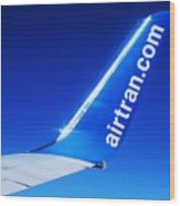 Collectible Airtran Wing Wood Print