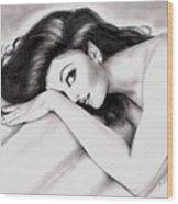 Aishwarya Rai Wood Print