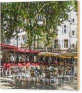Aix En Provence Wood Print