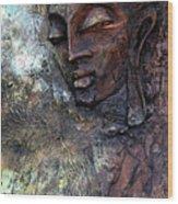Ajanta Buddha 2 Wood Print