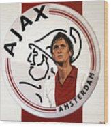 Ajax Amsterdam Painting Wood Print
