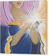 Ajna Third Chakra Goddess Wood Print