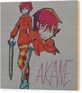Akane Wood Print