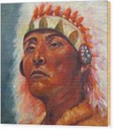 Akecheta, Native American Wood Print