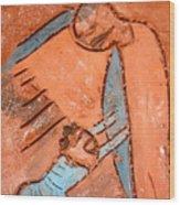 Akili - Tile Wood Print
