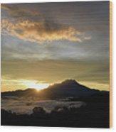 Akinabalu 3 Wood Print