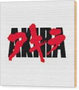 Akira Japan Anime Wood Print