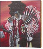 Akwesasne Mohawk Wood Print