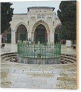 Al Aqsa Main Entrance Wood Print
