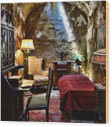 Al Capone's Cell - Scarface - Eastern State Penitentiary Wood Print