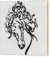 Al-hasan Wood Print