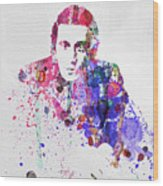 Al Pacino Wood Print by Naxart Studio