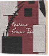 Alabama Crimson Tide Art Wood Print