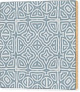 Alahambra Blue Wood Print