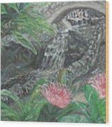 Alameda Gardens, Gibraltar Wood Print