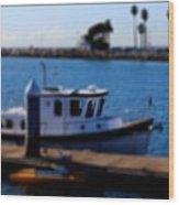 Alamitos Bay Long Beach Wood Print
