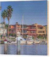 Alamitos Bay Naples 3 Wood Print