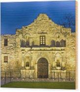 Alamo Dawn Wood Print