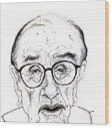 Alan Greenspan Wood Print