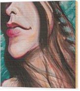 Alanis Morissette Wood Print