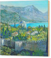Alanya Turkey Wood Print