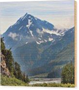 Alaska A Wood Print