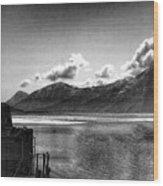 Alaska Black  Wood Print
