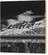 Alaska Cruise Wood Print