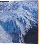 Alaska Exit Glacier Wood Print