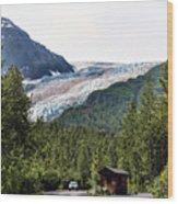 Alaska Glacier B Wood Print