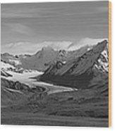 Alaska Range Center Panel Wood Print