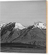 Alaska Range Left Panel Wood Print