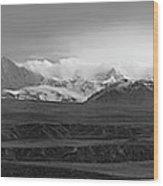 Alaska Range Right Panel Wood Print
