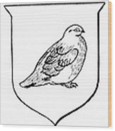 Alaska: State Bird Wood Print