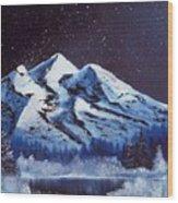 Alaskan Night Wood Print