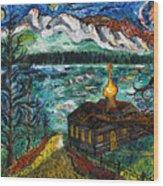 Alaskan Orthodox Church Wood Print