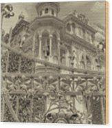 Albert Chamas Villa Wood Print