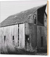 Albert City Barn 3 Wood Print