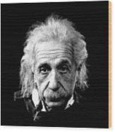 Albert Einstein Circa 1952 Wood Print