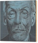 Albert Fish Wood Print