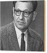 Albert Ghiorso, American Nuclear Chemist Wood Print